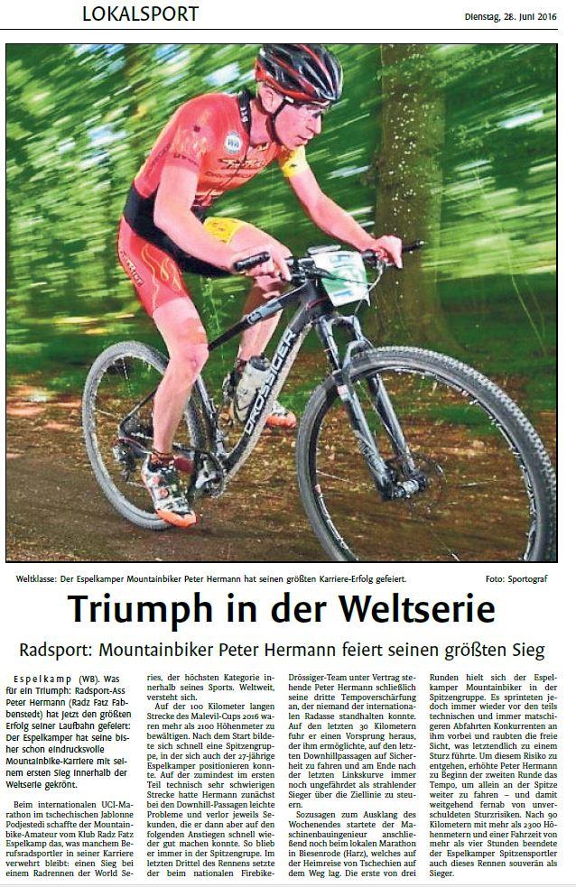 2016-06-28 Westfalenblatt Bericht